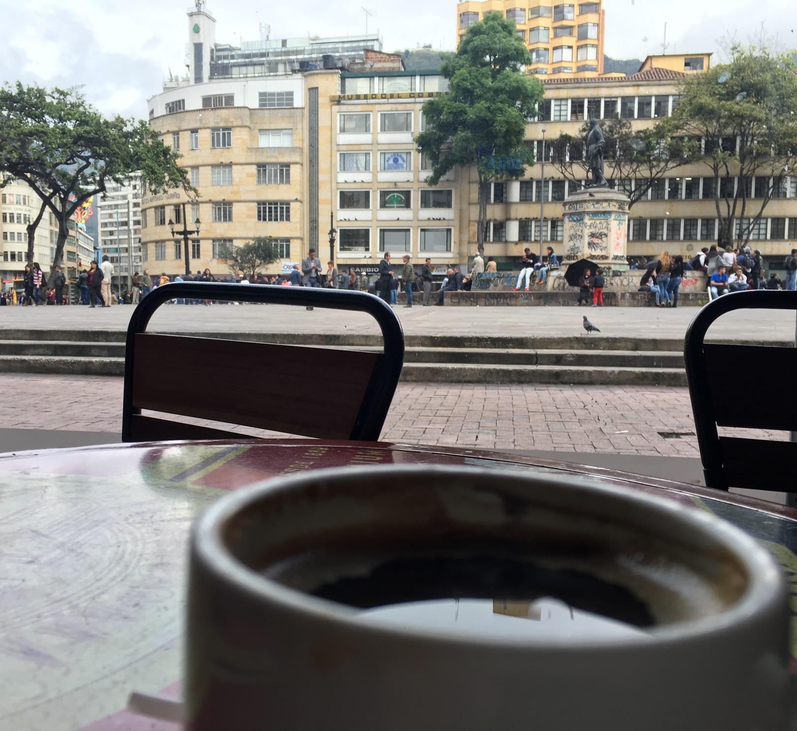 Desde Café Pasaje. Foto de Albeiro Montoya Guiral.