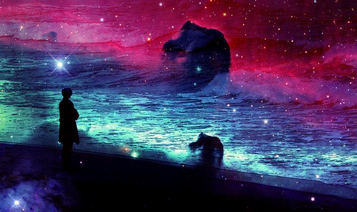 La chica y el mar