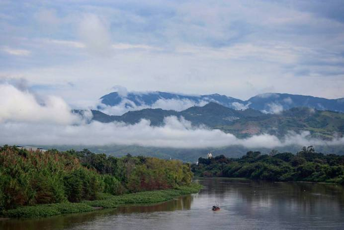 Río Cauca. Foto: Sara Gaviria P.