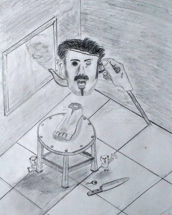 Ilustración: Camilo Rivero. Cortesía de El Dibujadero.