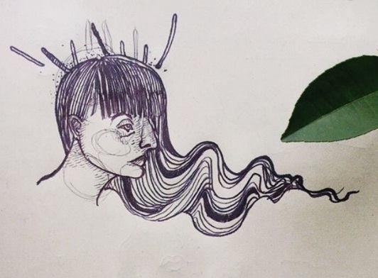 """(Dibujo: """"Decón"""". Autora: Mariana, cortesía de El Dibujadero)"""