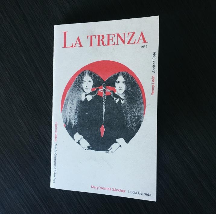 Primer número del fanzine La Trenza.