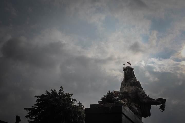 Cementerio Central de Bogotá. Foto de Sara Gaviria Piedrahíta para Literariedad.